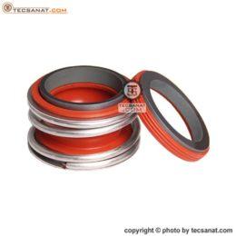 مکانیکال سیل بورگمن سیلیکون وایتون قرمز سایز 33
