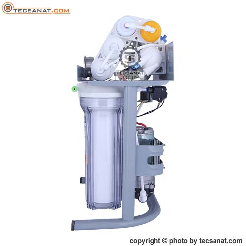 تصفیه آب خانگی PURE PRO مدل RO سری 8 مرحله با فیلتر مکمل مینرال