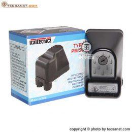 کلید اتوماتیک پمپ آب ایتالیایی ITALTECNICA مدل PM/5G مهره چرخشی