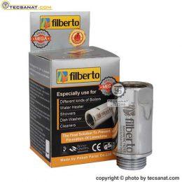 فیلتر رسوبگیر مغناطیسی فیلبرتو FILBERTO سری 1/2 اینچ مدل مگا